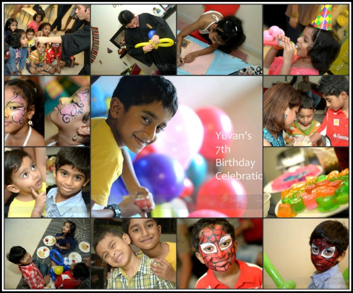 7th Birthday Collage 1